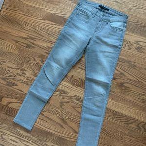 Women's Grey Joe's Skinny Jeans Size: 25